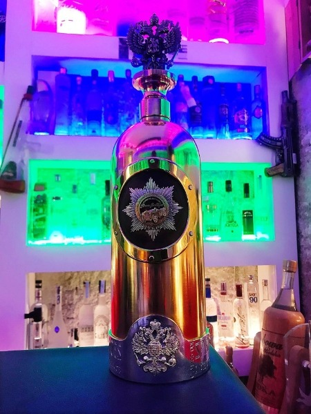 La botella de vodka más cara del mundo