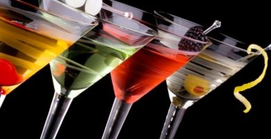 recetas de cocktails sin alcohol