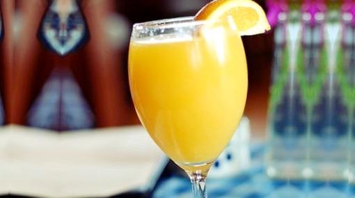 Caribbean Champagne coctel