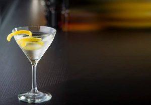 receta Vesper Martini
