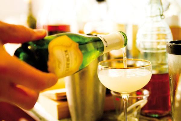 Clásico Cóctel de Champagne