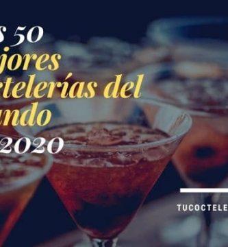 Las 50 mejores coctelerías del mundo en 2020