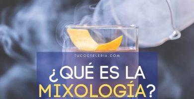 QUÉ ES LA MIXOLOGÍA